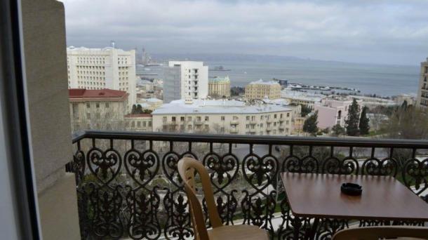 Апартаменты с видом на море возле Flame Tower